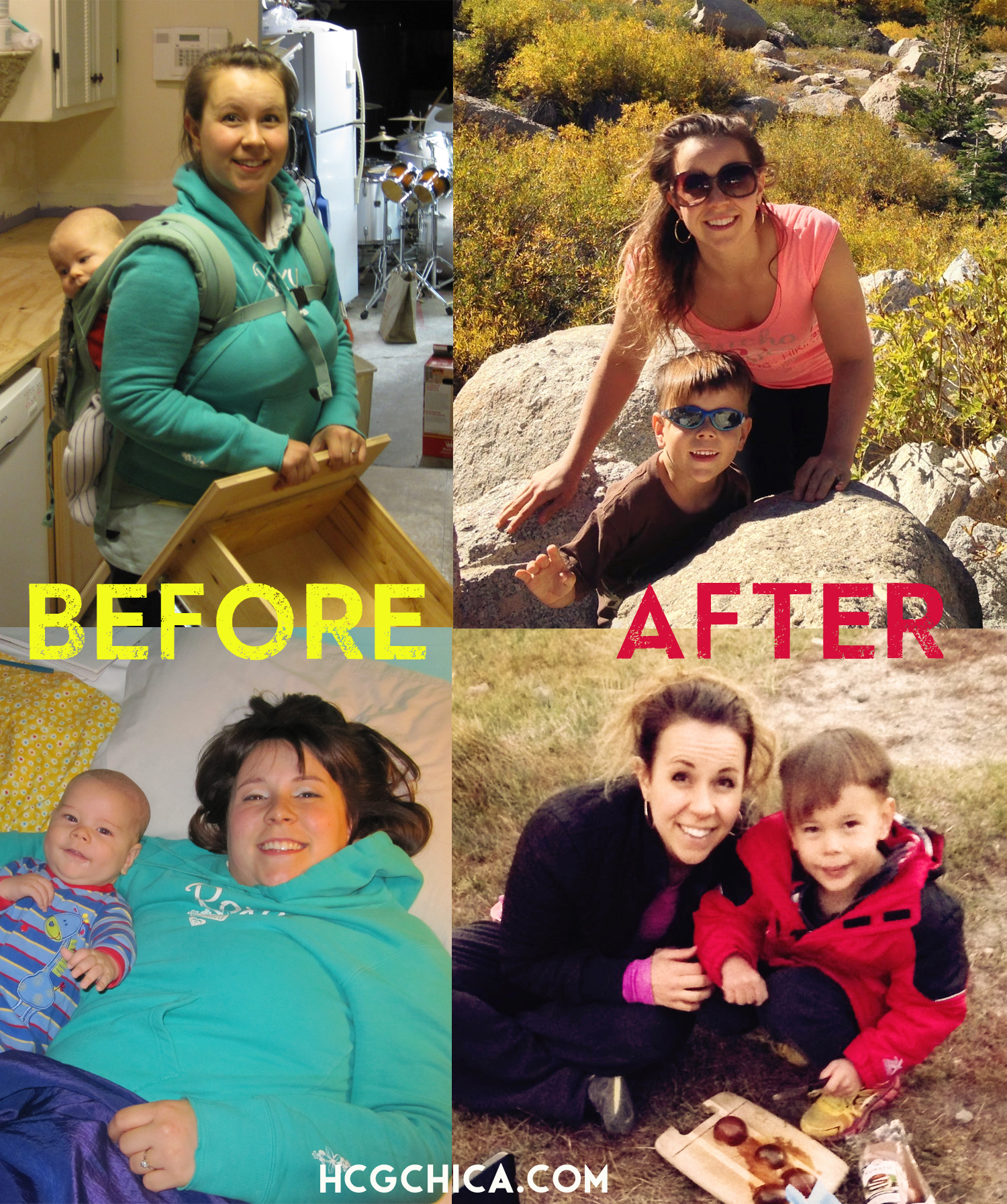 Before and After hCG Diet - Maintaining 2 years - hcgchica